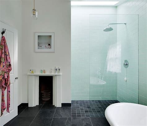 bathroom big tiles make a statement with large floor tiles