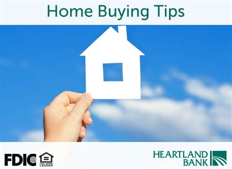 home buying tips heartland banks