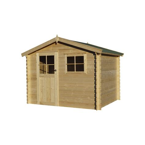 petit chalet en bois de jardin petit chalet de jardin en bois madrier 28 mm 7m 178