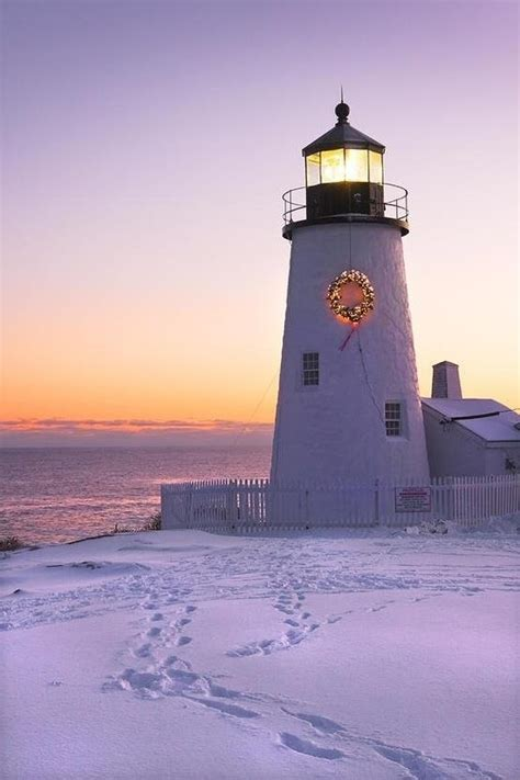 lighthouses decorated for christmas ib designs usa blog