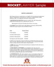 services agreement template service agreement contract template with sle