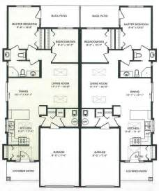 Floor Plans Duplex Duplex House Plans Home Design