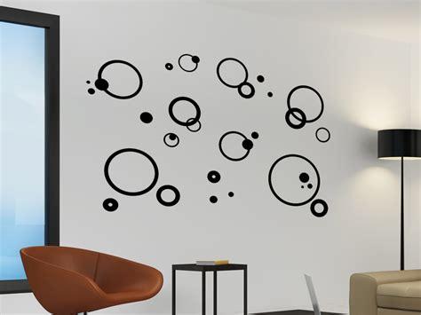 Wandgestaltung Mit Kreisen by Wandtattoo Ornament Aus Kreisen Wandtattoo Net