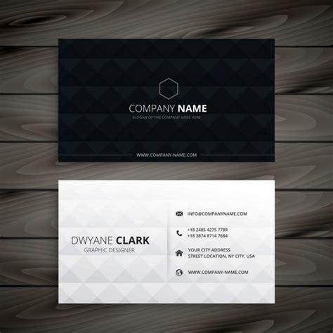 Visitenkarten Schwarz by Einfache Schwarz Wei 223 Diamant Visitenkarte Download Der