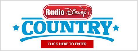 Radio Disney Sweepstakes 2017 - radio disney country fan fair x perience sweepstakes