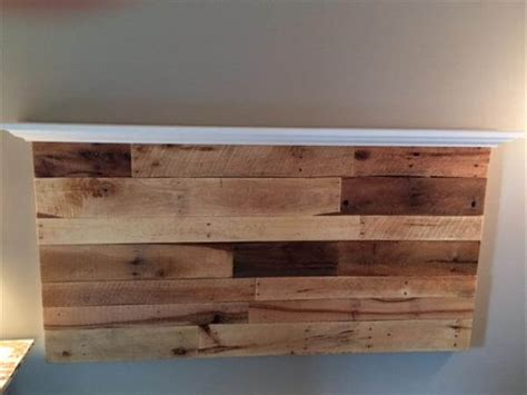 headboard with shelf pallet wall headboard with shelf pallet furniture diy