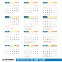 Calendar 2018 Indonesia Pdf Gratis Free Template Kalender 2018 Lengkap