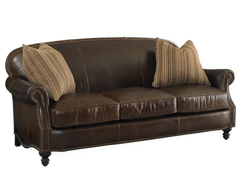 solitude leather sofa by bradington 656