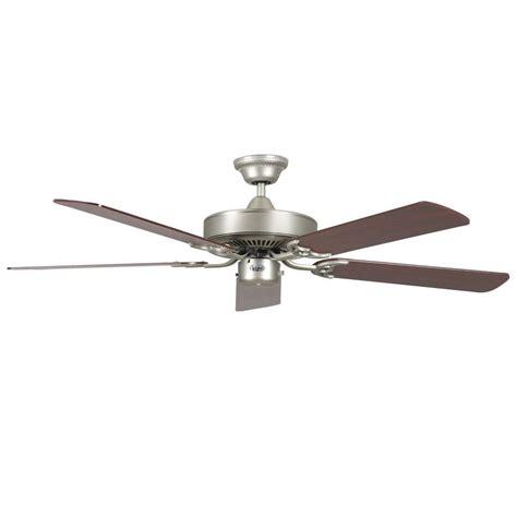 high tech ceiling fan radionic hi tech calli 52 in satin nickel ceiling fan