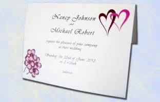 wedding invitations at cross
