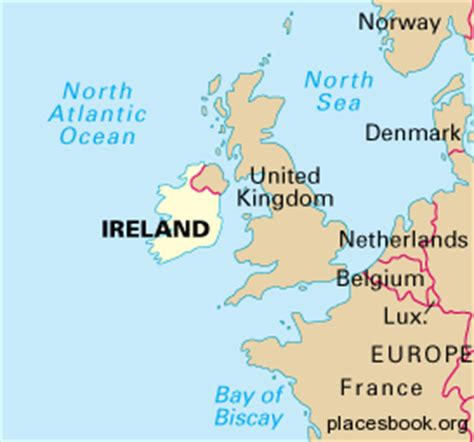 world map with ireland image gallery ireland on world map