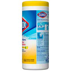 clorox disinfecting wipes  ct lemon fresh clean cut solutions