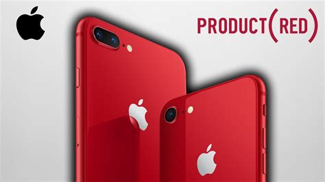 iphone 8 y 8 plus rojos product neshudo