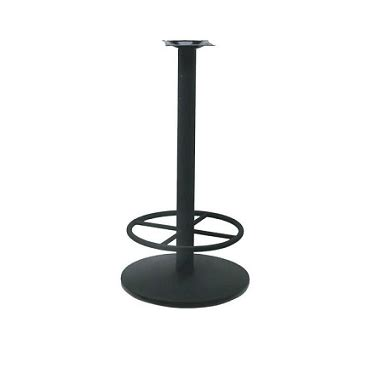 black bar height table black bar height table base black ring 22