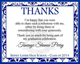 graduation thank you cards templates invitations templates
