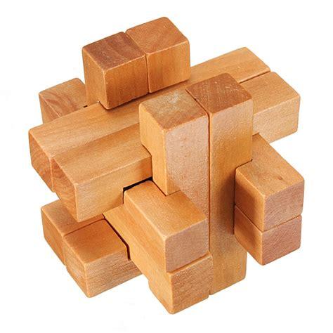 wooden puzzles vintage 3d yx835 wooden brain teaser puzzle