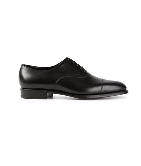 chelsea oxford shoes harvey specter s black edward green chelsea oxford shoes