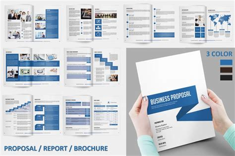 template indesign business plan free 70 modern corporate brochure templates design shack