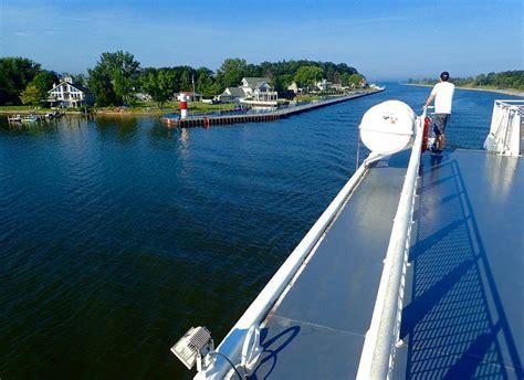 ferry boat lake michigan baby boomers travel across lake michigan by ferry