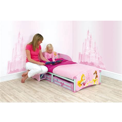 princess toddler beds disney princess storytime toddler bed mattress bnib ebay