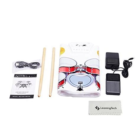 Usb Roll Up Drum Kit midi usb drum kit pc desktop roll up drum pad portable