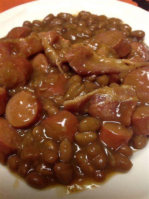 dogs and beans beanie weenie casserole recipe