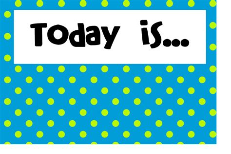 Calendar What Is Today Teaming Up To Teach Polka Dot Calendar Wall