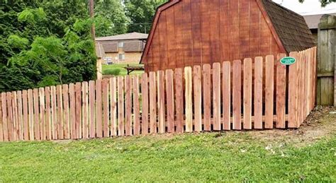fencing wood fence ballwin mo wood fence ballwin mo