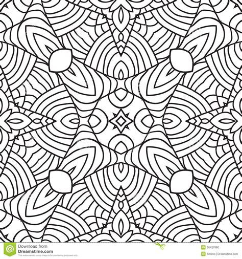 oriental pattern black and white black and white oriental pattern stock vector