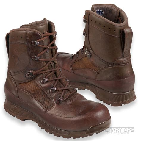 army haix brown high liability combat boot