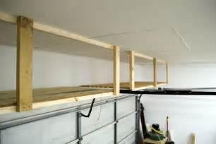 Garage Storage Above Adding Storage Above The Garage Door Jays Custom Creations