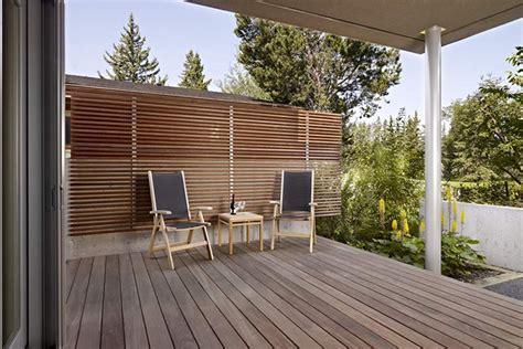 modern decks concepts modernes pour cl 244 tures de patio montreal
