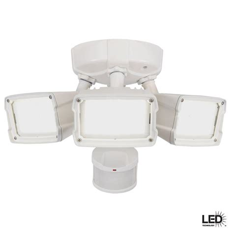 Best Outdoor Motion Security Lights Defiant 270 Degree Motion Outdoor Activated White Led Security Floodlight Msh27920lwdf The