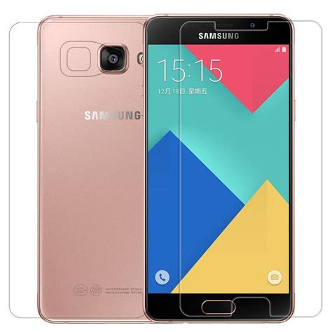 Samsung Galaxy A5 2015 Tempered Glass Anti Gores Screen Protector for galaxy a5 2016 screen protector nillkin amazing h pro anti explosion tempered glass