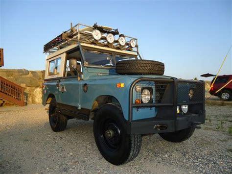 land rover series 3 custom buy used 1972 land rover series iii aka defender in