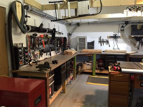 garage with workshop craig s garage workshop the wood whisperer