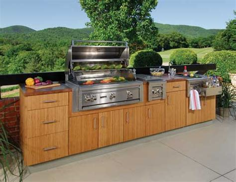 outdoor bbq kitchen cabinets outdoor kitchens from the 2010 builders show