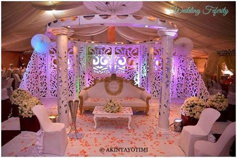 Nigerian Wedding Decor   Traditional and White Wedding