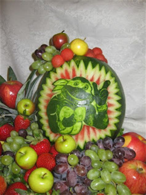 Fruit Platter Can Say It: Ninja Turtle