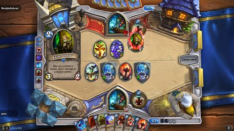 Magical Notes: Hearthstone Arena Walkthrough: Shaman   game 4