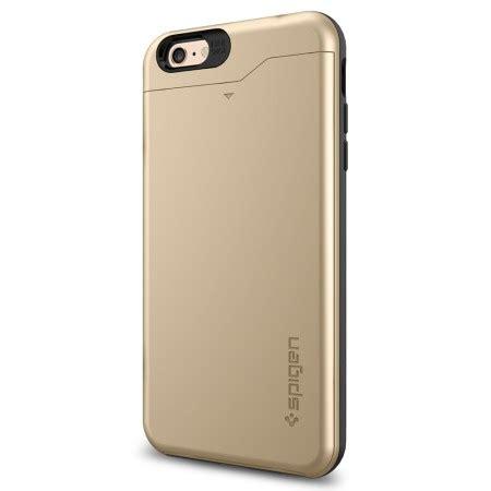 Spigen Iphone 6s Plus 6 Plus spigen slim armor cs iphone 6s plus 6 plus chagne gold mobilezap australia