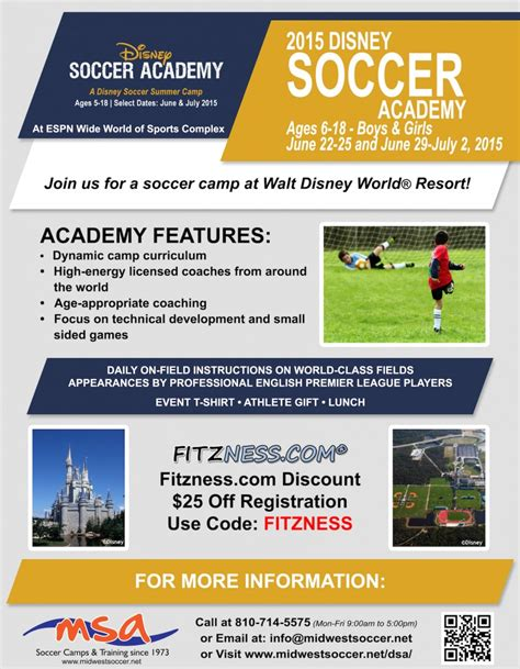 soccer code fitzness