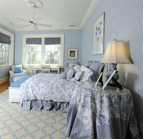white and blue bedroom decor traditional transitional coastal interior design ideas