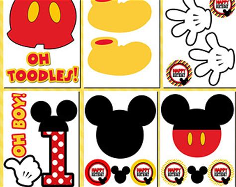 printable mickey mouse birthday decorations mickey mouse printables cliparts co