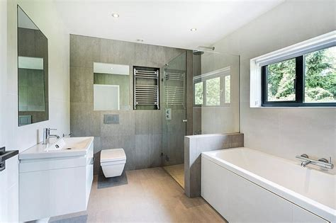 bathroom winchester modern extension reshaping a confusing home layout in