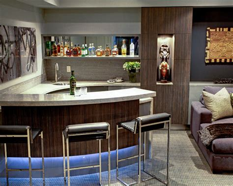 modern contemporary home bar home bar design