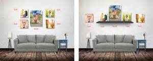 living room canvas canvas print ideas to design the perfect wall