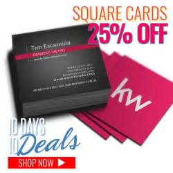 square business cards size square business cards same day printing