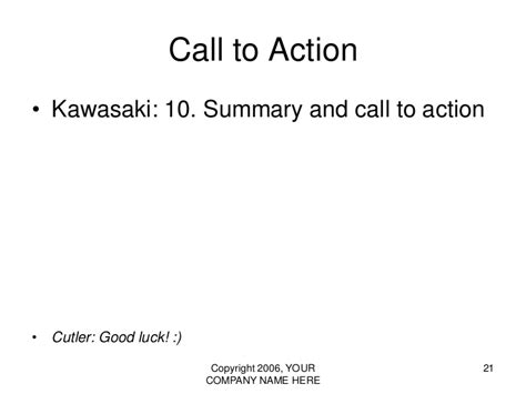 kawasaki powerpoint template vc pitch presentation template the 10 20 30 rule of