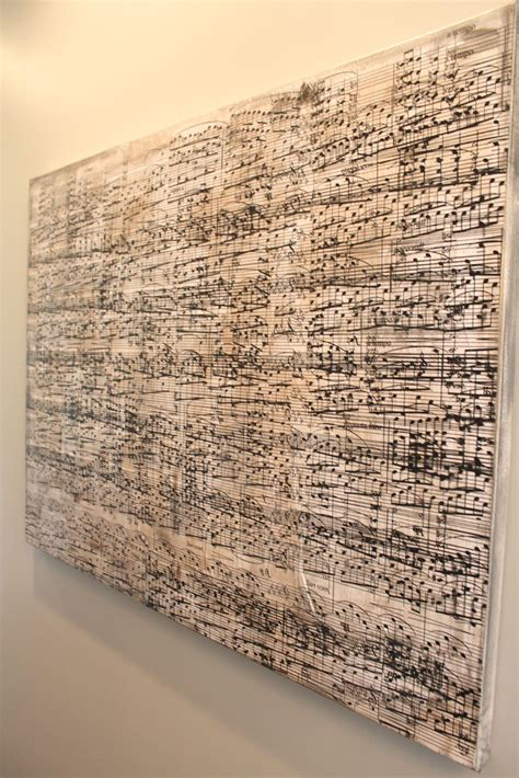 Amy S Casablanca Diy Sheet Music Artwork Painting Sheet For
